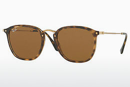 solbrille Ray-Ban RB2448N 710 - Brun, Havanna