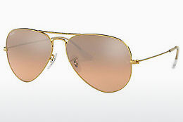 solbrille Ray-Ban AVIATOR LARGE METAL (RB3025 001/3E)