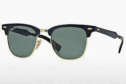 solbrille Ray-Ban CLUBMASTER ALUMINUM (RB3507 136/N5)
