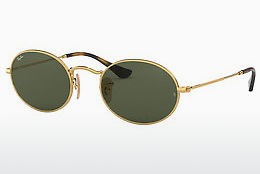 solbrille Ray-Ban Oval (RB3547N 001) - Gull