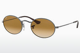 solbrille Ray-Ban OVAL (RB3547N 004/51) - Grå