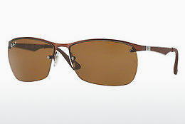 solbrille Ray-Ban RB3550 012/83 - Brun