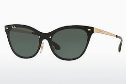 solbrille Ray-Ban Blaze Cat Eye (RB3580N 043/71) - Gull