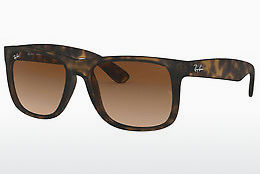 solbrille Ray-Ban JUSTIN (RB4165 710/13) - Brun, Havanna
