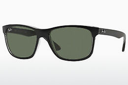 solbrille Ray-Ban RB4181 6130 - Sort, Grå
