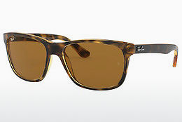 solbrille Ray-Ban RB4181 710/83 - Brun, Havanna