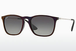 solbrille Ray-Ban CHRIS (RB4187 631611) - Sort, Rød
