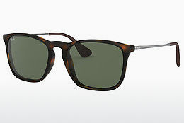 solbrille Ray-Ban CHRIS (RB4187 710/71) - Brun, Havanna