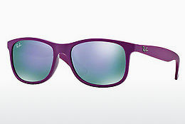 solbrille Ray-Ban ANDY (RB4202 60714V) - Purpur