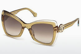 solbrille Roberto Cavalli RC1070 57G - Horn, Shiny