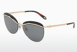solbrille Tiffany TF3057 610587 - Sort, Gull