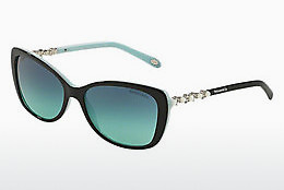 solbrille Tiffany TF4103HB 80559S - Sort, Blå