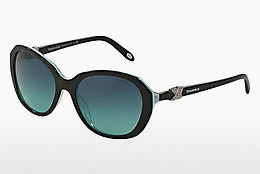 solbrille Tiffany TF4108B 81939S - Sort, Brun, Havanna, Blå