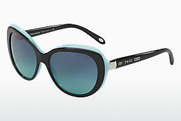 solbrille Tiffany TF4122 80559S - Sort, Blå