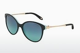 solbrille Tiffany TF4127 80559S - Sort, Blå