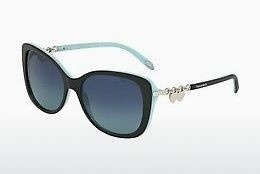 solbrille Tiffany TF4129 80559S - Sort, Blå