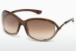 solbrille Tom Ford Jennifer (FT0008 38F) - Bronse