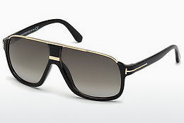solbrille Tom Ford Eliott (FT0335 01P) - Sort, Shiny