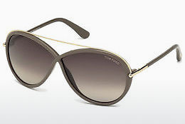 solbrille Tom Ford Tamara (FT0454 59K) - Horn, Beige, Brown