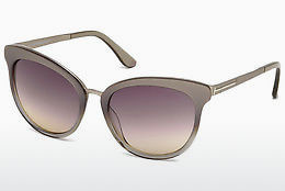 solbrille Tom Ford Emma (FT0461 59B) - Horn, Beige, Brown