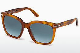 solbrille Tom Ford Amarra (FT0502 53W) - Havanna, Yellow, Blond, Brown