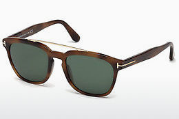 solbrille Tom Ford Holt (FT0516 53N) - Havanna, Yellow, Blond, Brown