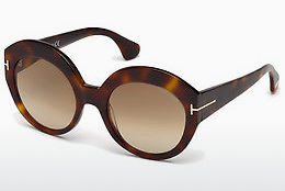 solbrille Tom Ford Rachel (FT0533 53F) - Havanna, Yellow, Blond, Brown