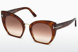 solbrille Tom Ford Samantha (FT0553 53F) - Havanna, Yellow, Blond, Brown