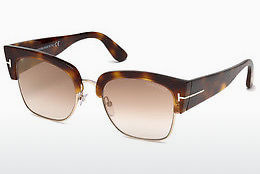 solbrille Tom Ford Dakota (FT0554 53G) - Havanna, Yellow, Blond, Brown