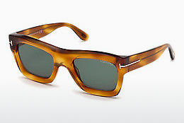 solbrille Tom Ford FT0558 53N - Havanna, Yellow, Blond, Brown