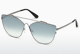 solbrille Tom Ford FT0563 14X - Grå, Shiny, Bright