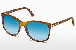 solbrille Tom Ford FT0567 53X - Havanna, Yellow, Blond, Brown
