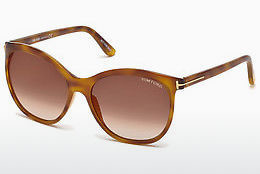 solbrille Tom Ford FT0568 53G - Havanna, Yellow, Blond, Brown