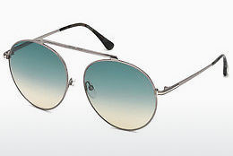 solbrille Tom Ford FT0571 14W - Grå, Shiny, Bright