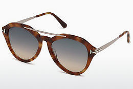 solbrille Tom Ford FT0576 53B - Havanna, Yellow, Blond, Brown