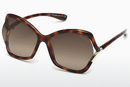 solbrille Tom Ford FT0579 53K - Havanna, Yellow, Blond, Brown