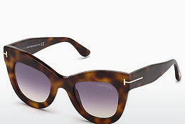 solbrille Tom Ford FT0612 53Z - Havanna, Yellow, Blond, Brown