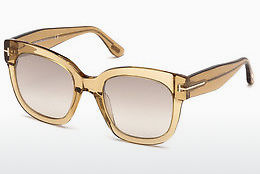 solbrille Tom Ford FT0613 45F - Brun, Bright, Shiny