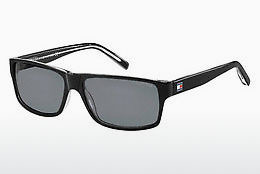 solbrille Tommy Hilfiger TH 1042/N/S 7C5/TD - Sort