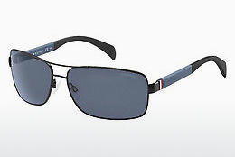 solbrille Tommy Hilfiger TH 1258/S NIO/KU - Sort, Grå