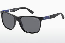solbrille Tommy Hilfiger TH 1281/S FMA/3H - Sort, Grå
