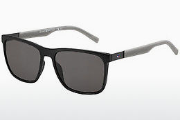 solbrille Tommy Hilfiger TH 1445/S L7A/NR - Sort, Grå