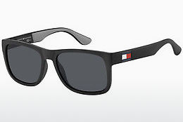 solbrille Tommy Hilfiger TH 1556/S 08A/IR - Sort, Grå
