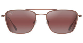 Maui Jim Ebb & Flow R542-19A Maui RoseBrown Red Satin