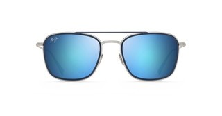Maui Jim Following-Seas B555-17M BronzeGold Schwarz