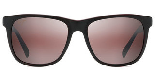 Maui Jim Tail Slide R740-02MB Maui RoseMatte Black/Red