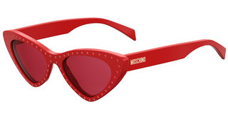 Moschino MOS006/S C9A/4S BURGUNDYRED