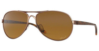 Oakley OO4079 407914 BROWN GRADIENT POLARROSE GOLD