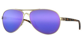 Oakley OO4079 407918 VIOLET IRID POLARPOLISHED GOLD