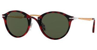 Persol PO3166S 110031 GREENRED GRID